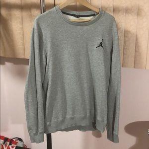 Men Medium Jordan Gray Sweater